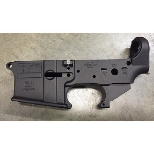 MS Auto Arms AR15 Stripped Lower Receiver - 11th Mississippi